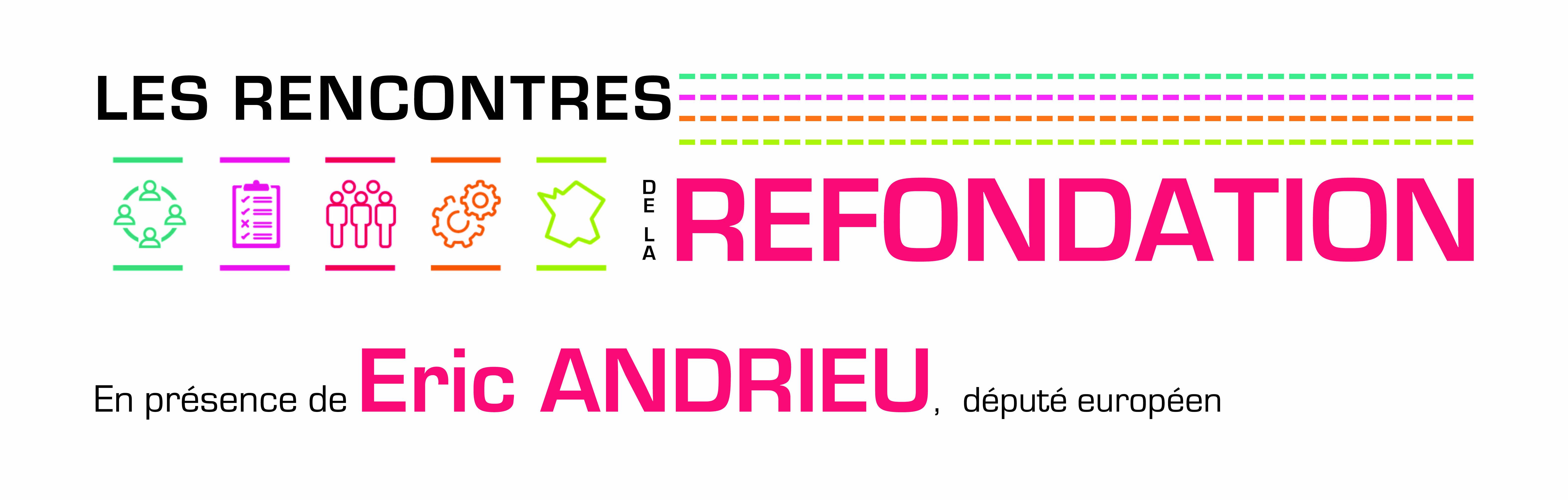 Les Rencontres de la Refondation – Jeudi 23 novembre avec Eric Andrieu