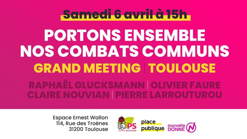 Grand meeting européennes à Toulouse !