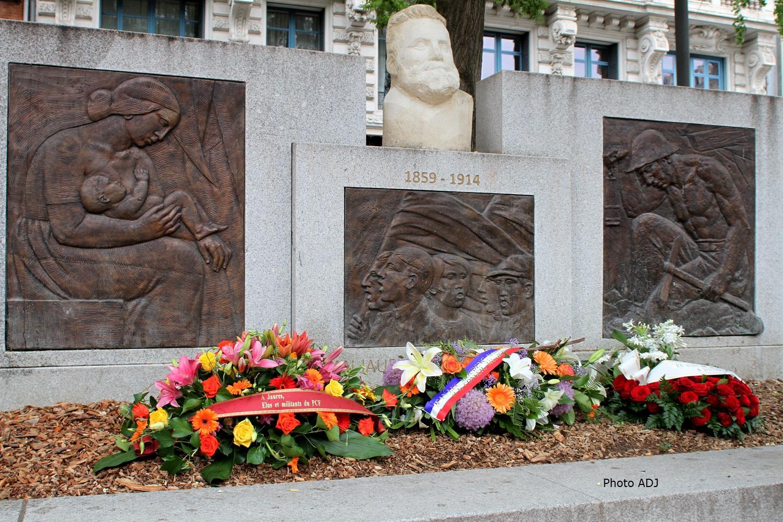 AGENDA : Hommage à Jean Jaurès