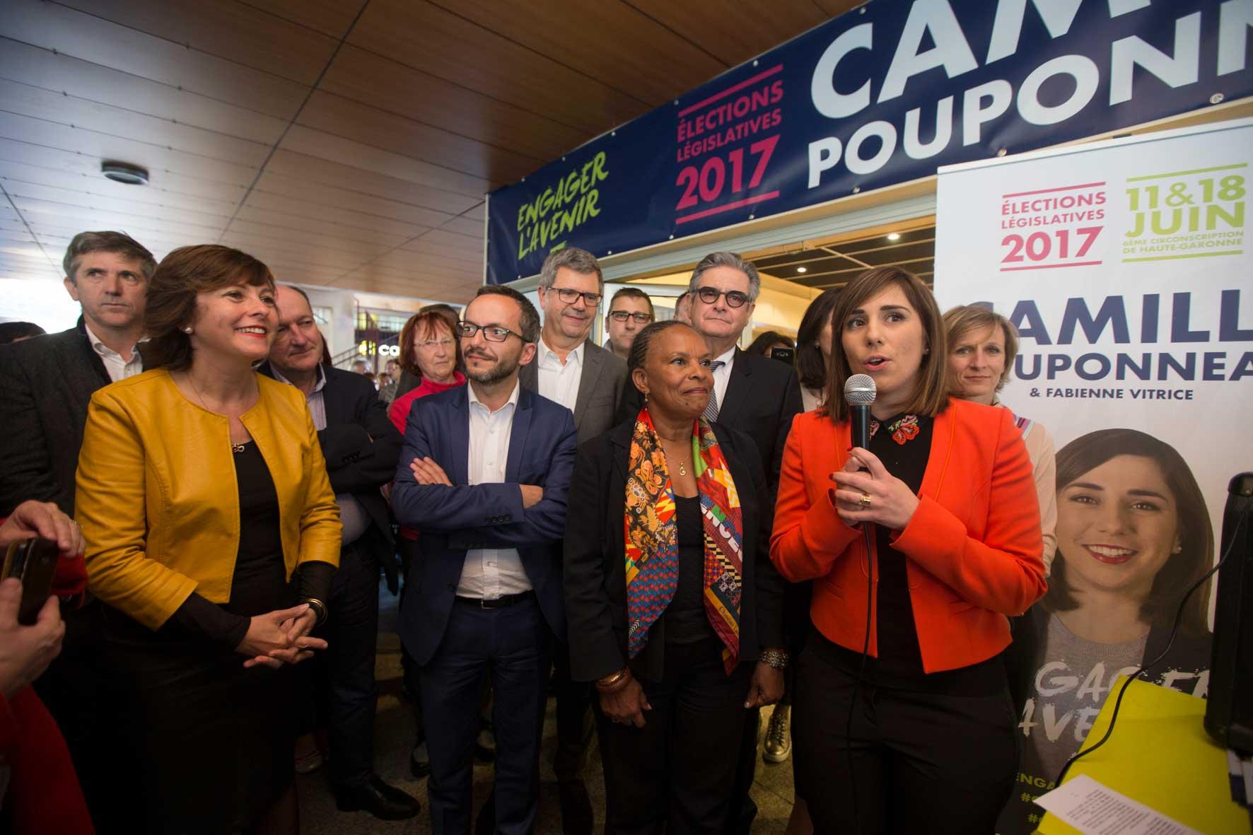Café Citoyen à Colomiers avec Christiane Taubira