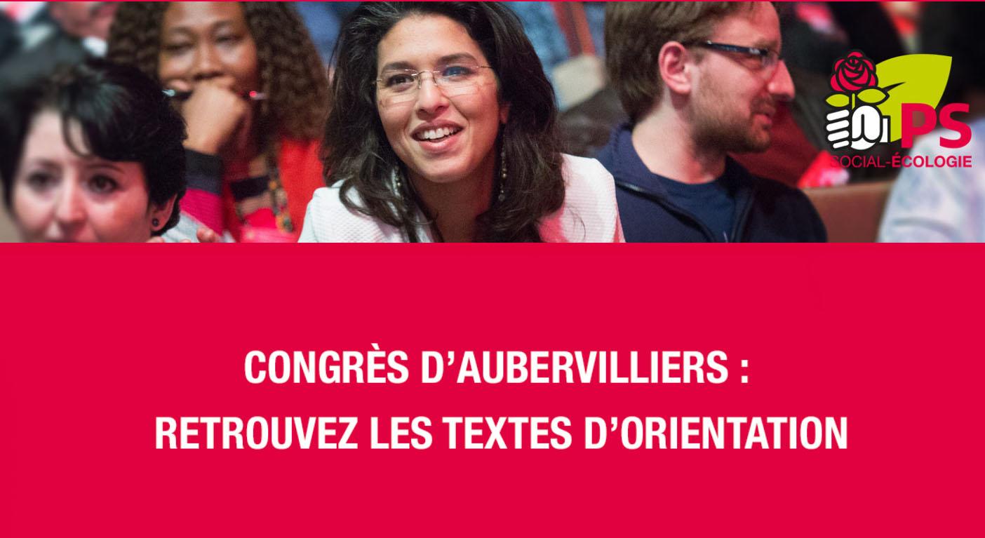 Congrès d'Aubervilliers - Les textes d'orientation