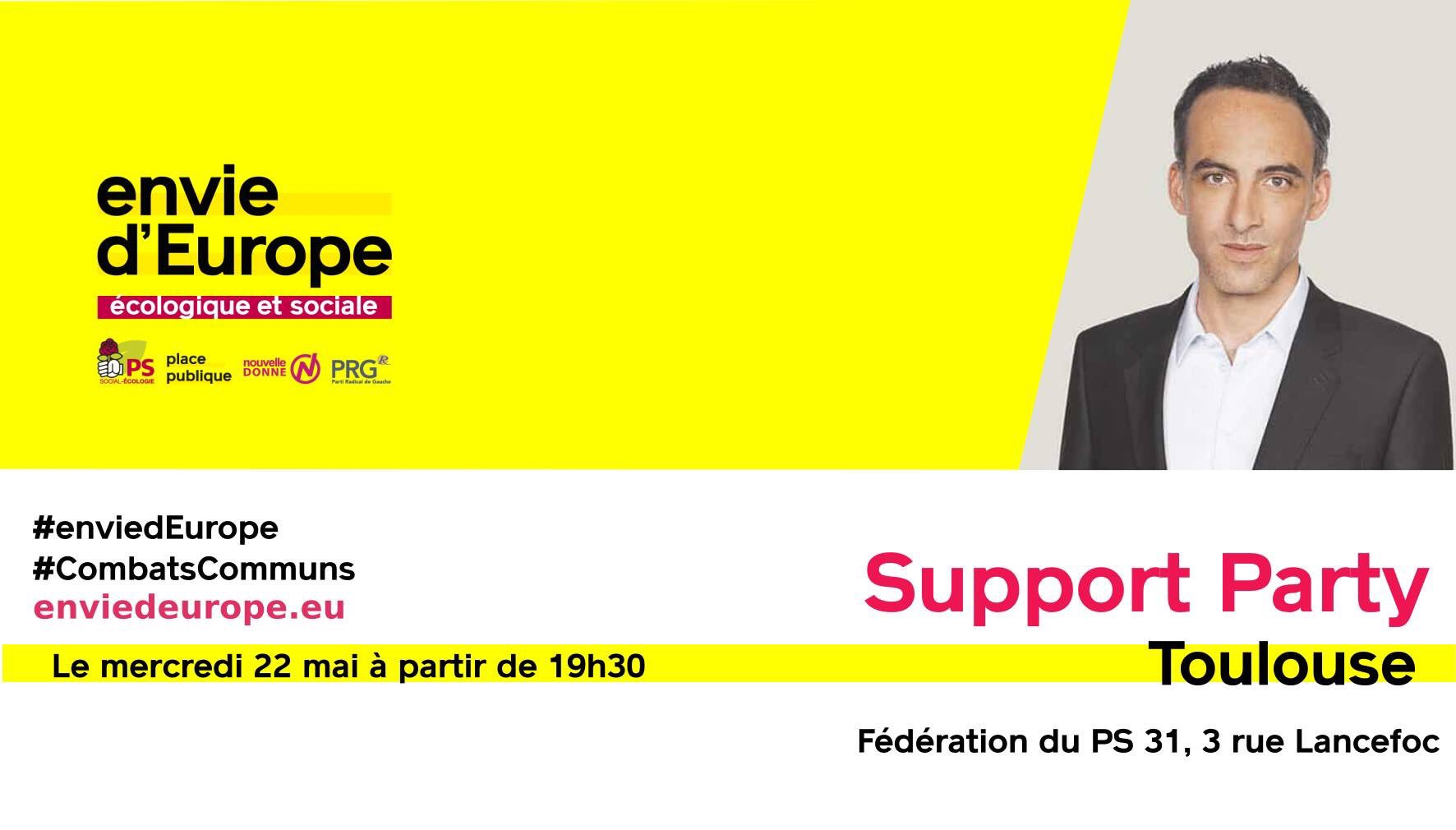 Support Party du 22 mai 2019